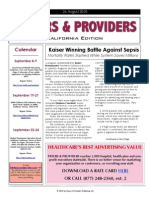 Payers & Providers – Issue of August 26, 2010
