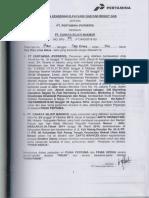 Kontrak Gas 12 Kg