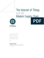 The Internet of Things and the Modern Supply Chain White Paper