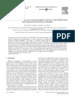 Molecular Distillation for recovering Tocopherol and Fatty Acid Methyl Esters.pdf
