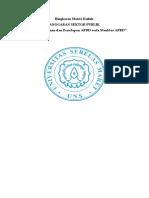 RMK 8 Penyusunan Dan Penetapan Apbd