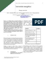 Informe Practica Conversión Energetica