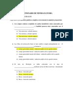 Cuestionario de Neuroanatomia 2