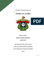 Modul 7 - TEMUAN Audit Internal