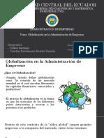 Globalizacion en La Administracion