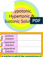 Hypotonicisotonic&hypertonicsolutions (Biology Form 4)