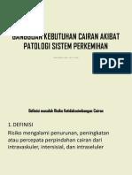 Gangguan Kebutuhan Cairan Akibat Patologi Sistem Perkemihan