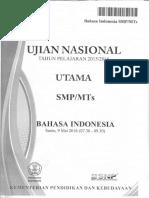 Soal UN Bahasa Indonesia SMP 2006 Paket 2.pdf