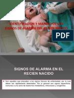 Signos de Alarma Del RN