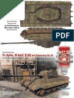 Tiger II (H) Paper Model