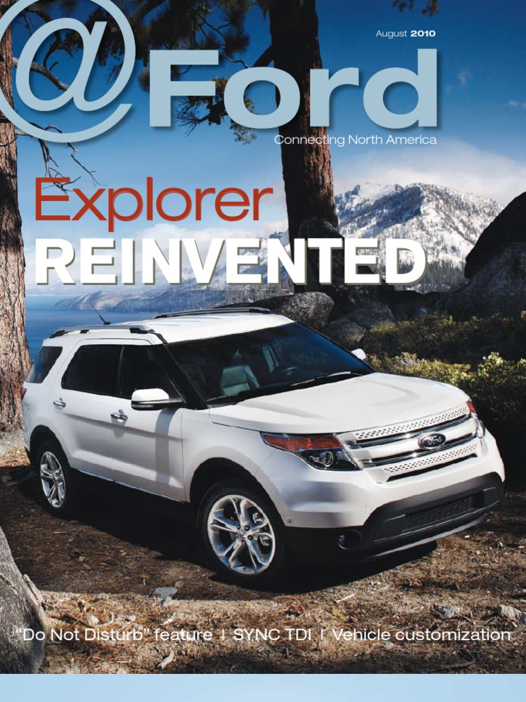 ford august 2010 north america ford motor company sport utility vehicle
