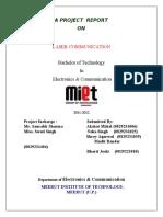 106168730 Laser Communication