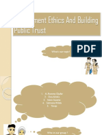 Etika Pemerintahan Dan Membangun Kepercayaan Publik