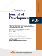 Philippine Journal of Development, Volume 43 (2016)