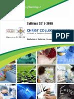 BSc III-IV Syllabus 2017-18 by Christ College - Rajkot