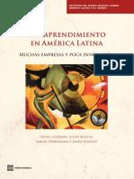El Emprendimiento en America Latina