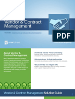 Vendor and Contract Management Solution Guide