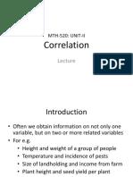 Correlation UnitII