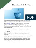 Materi Penyuluhan Air