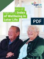 AgeUK Wellbeing Index Summary Web