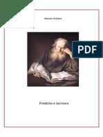 Meister Eckhart, Prediche e Sermoni