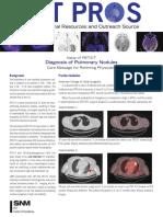 Diagnosis Pulmonary Nodules