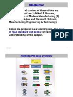 Metal Forming_self Study Portions