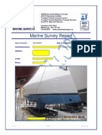 Fibreglass Boat Inspection Report