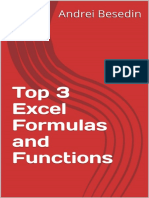 Top 3 Excel Formulas and Functions (Excel Training Book 0) - Andrei Besedin.pdf