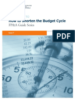 2015 AFP FP_A Guide - Shortening the Budget Cycle