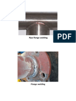 PIPE FLANGE WELDING
