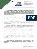 BUFETE ORTIZ - Sentencia Devolucion Total Gastos