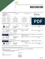 Jet Airways Web Booking ETicket ( CRTBTB ) - Peter