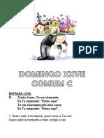 XXVII Comum