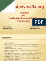 Civil Earthquake Resistent Building Construction Ppt