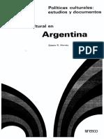 Harvey Politica cultural en Argentina - UNESCO.pdf