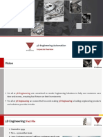 Corporate overview of 3D Engineering