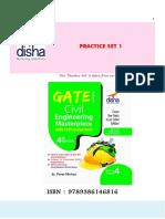 GATE Civil Engineering Practice Set