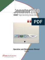 Senator 200 OM Manual