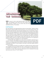Establishment of Orchard