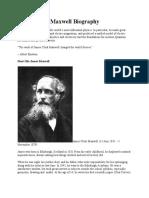 James Clerk Maxwell Biography