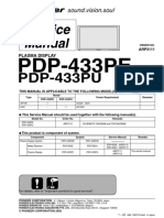 Plasma Pioneer Pdp-433pe