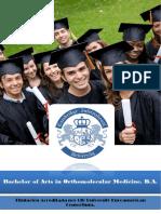 Bachelor Orthomolecular Medicine