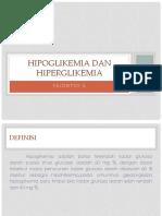 Hipoglikemi Dan Hiperglikemia