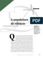 A arquitetura do silêncio - Aguinaldo J. Gonçalves.pdf