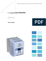 WEG Cfw10 Users Manual