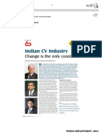 Indian CV Industry - Change is the Only Constant