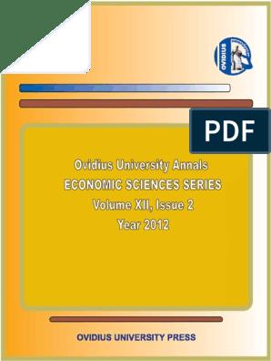 volum2012p2v2 | Romania | Strategic Management