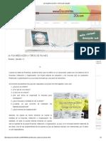 La Planificación y Tipos de Planes