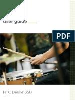 HTC Desire 650 User Guide